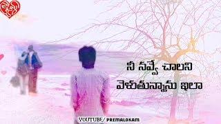 Nee navve chalani veluthunnanu ilaa Heart touching Song Premalokam Whatsapp status