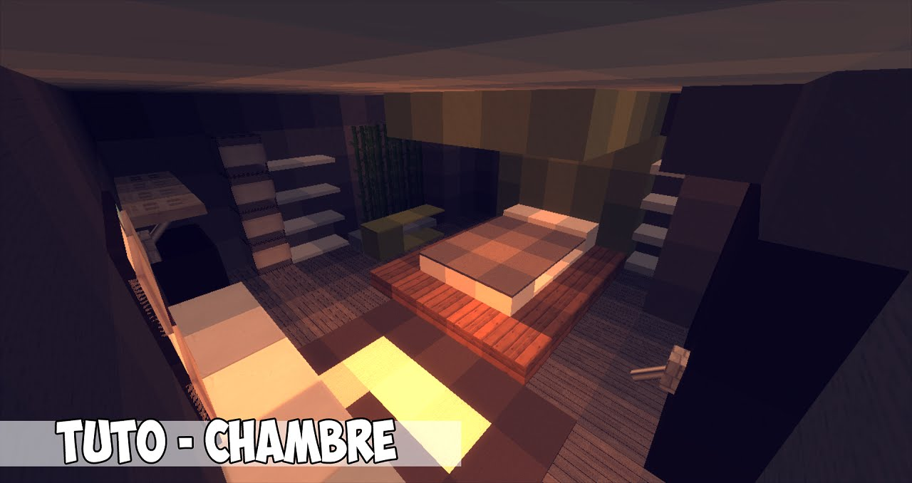 Tuto Intrieur Minecraft  Chambre Moderne  YouTube