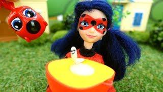 Леди Баг против Гусеницы! Новое видео - Куклы для девочек
