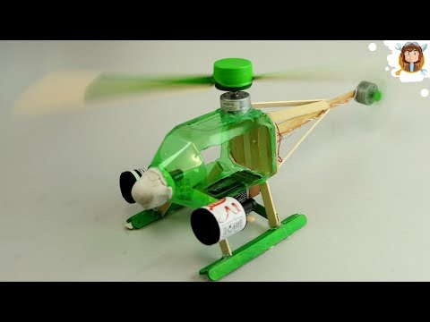 Thumbnail: How to make a Helicopter - (Electric Helicopter)