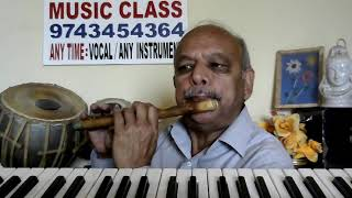 "Ye Dosti""SHOLEY""1975 hindi FLUTE/KEYBOARD music by VISWANATHA LS from JK MUSIC CLASSES"