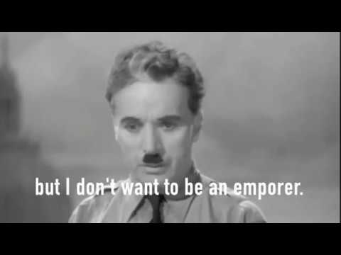 Charlie Chaplin's Vision Of A United Earth