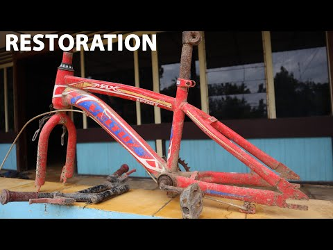 Restoration bike FROM WRECKAGE BICYCLE FOUR 5 thumbnail