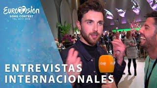 Entrevista a GRECIA, ISRAEL, AUSTRALIA, LITUANIA, PAÍSES BAJOS Y CHEQUIA   Eurovisión 2019