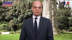 Rendez-vous parents #9 - Jean-Michel Blanquer s'adresse aux familles  24/04