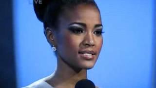 Miss Universe 2011 Angola Q and A