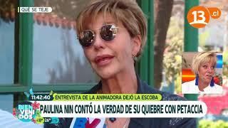 ¡Polémica entrevista a Paulina Nin!   Bienvenidos