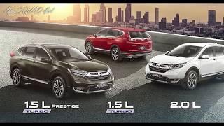 New HONDA CR-V 2017-2018