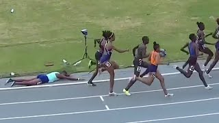 Big Sprint Finish After Pacer Wipes Out In Nairobi 800m