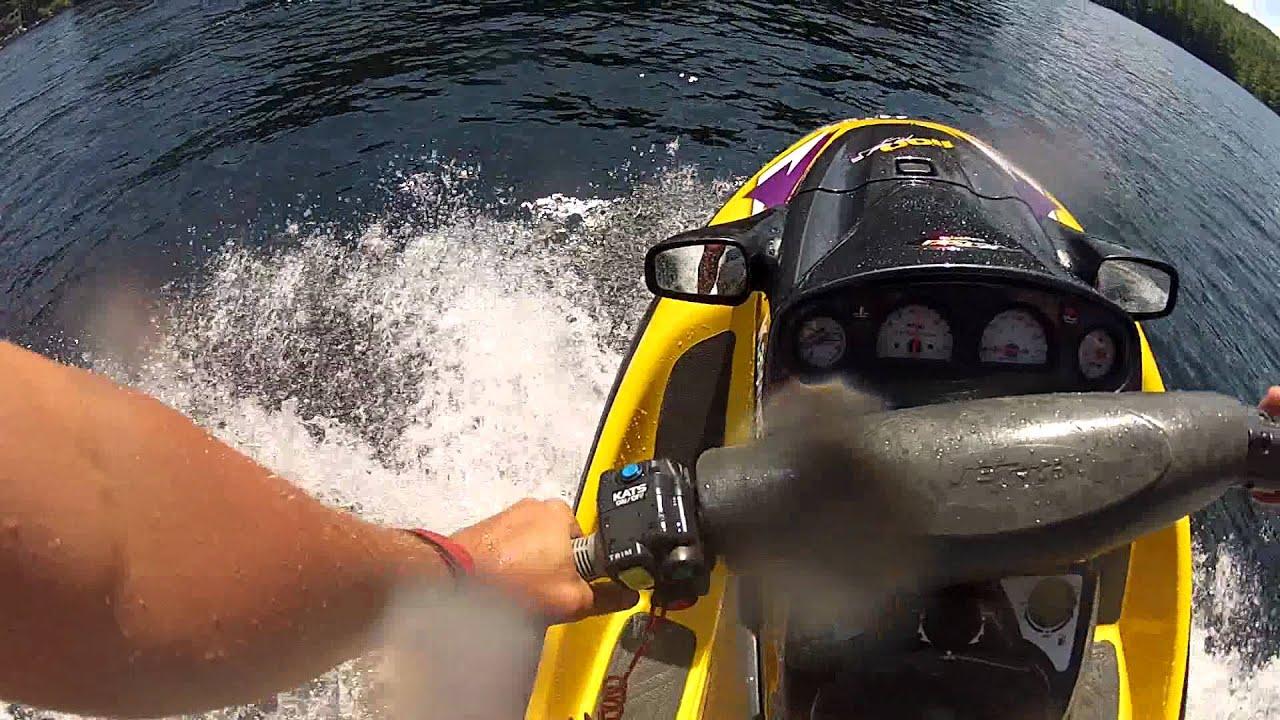 riding my new to me kawasaki zxi 1100 with a gopro hero 2 - youtube