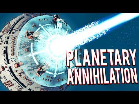 METAL PLANET CONTEST! ORBITAL WAR! - LEGION MOD - Planetary Annihilation Titans