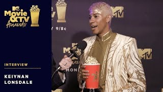 Keiynan Lonsdale Reacts to Winning Best Kiss Award | 2018 MTV Movie & TV Awards