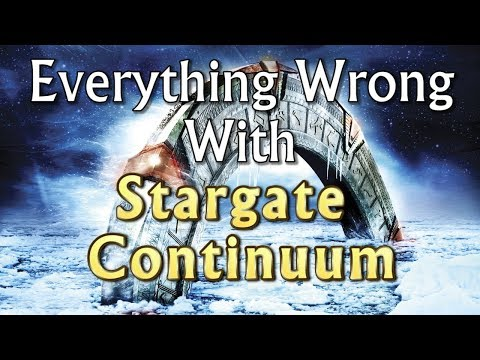 Bootleg Cinemasins - Everything Wrong With Stargate Continuum in 20 Minutes or Less