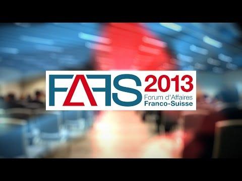 Forum d'Affaires Franco-Suisse - Edition 2013