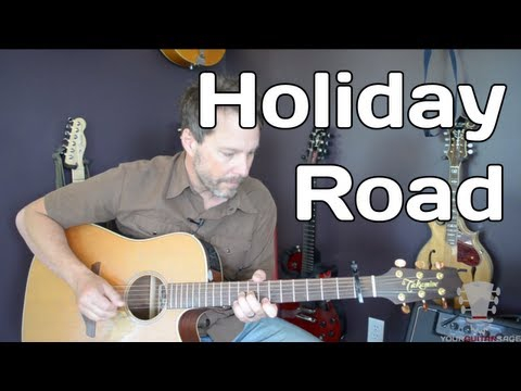 Holiday Road by Lindsey Buckingham - How To Play - Guitar Lesson