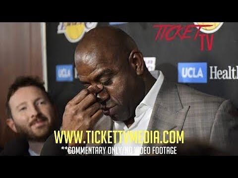 BREAKING! LAKERS MAGIC JOHNSON WILL HAVE NO REPLACEMENT AND HE'LL HELP RECRUIT PLAYERS! (REPORT)