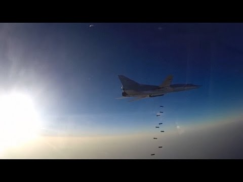 Russia Steps Up Bombing Campaign Against Islamic Terrorists IS