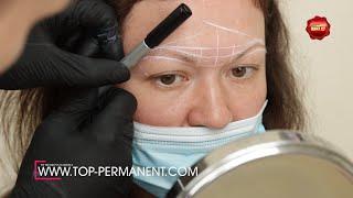Омоложение лица Стойкий долгосрочный макияж Работа мастера До и после