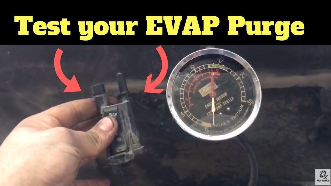 P0496 FIX EVAP Purge Solenoid code