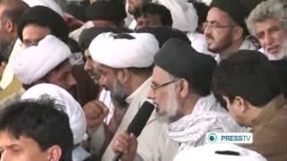 Iranian - Pakistanis rally to express outrage against Shia massacres