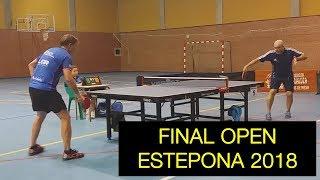 Summary of the final open Estepona 2018. Pepe Robles vs Antonio Díaz