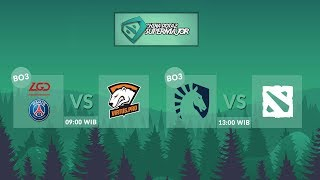 Virtus Pro vs Team Liquid (BO5) PGL Supermajor China -  Final Day