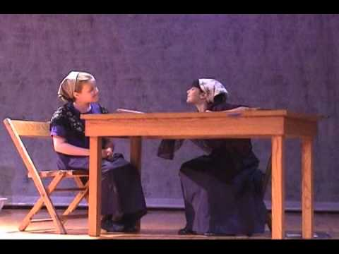 Elizabeth Hughes 10 Years Old As Yenta The Matchmaker In