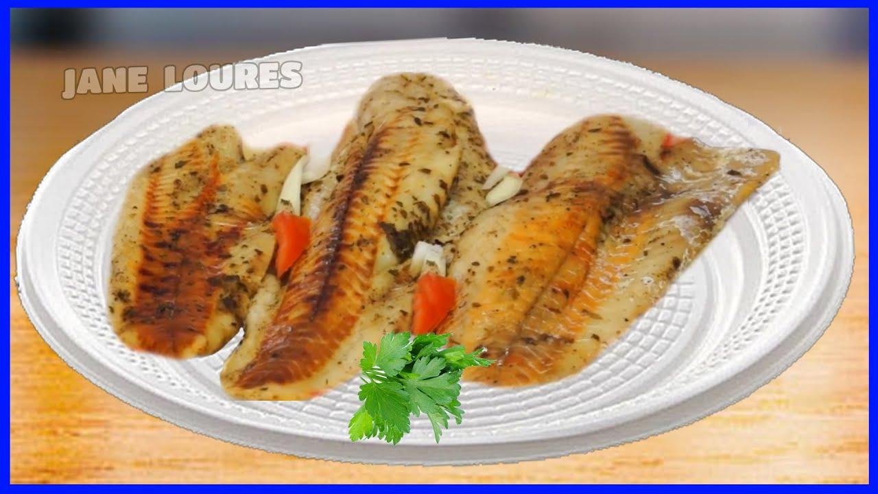 peixe no forno simples