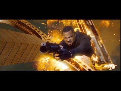 Live Free or Die Hard 2007 - France -Truck - Coup D'etat - Ice Cube - Willem Dafoe - Gun - GANGSTER