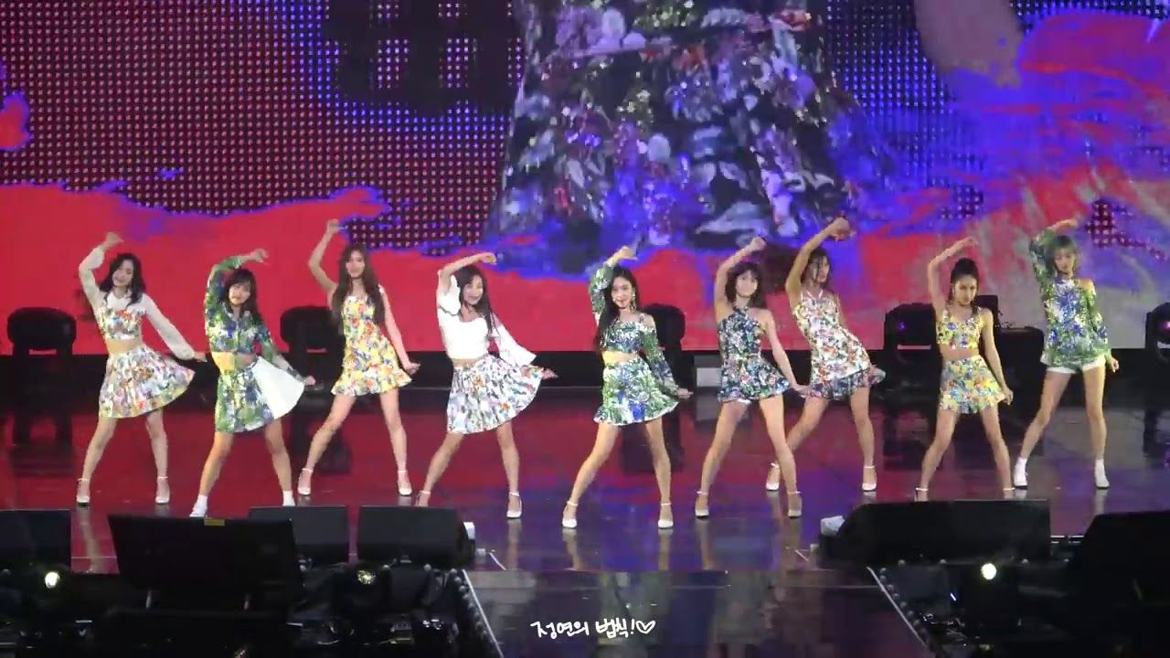 Twice Look At Me Live M V Youtube