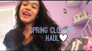 Spring Haul 2014! Thumbnail
