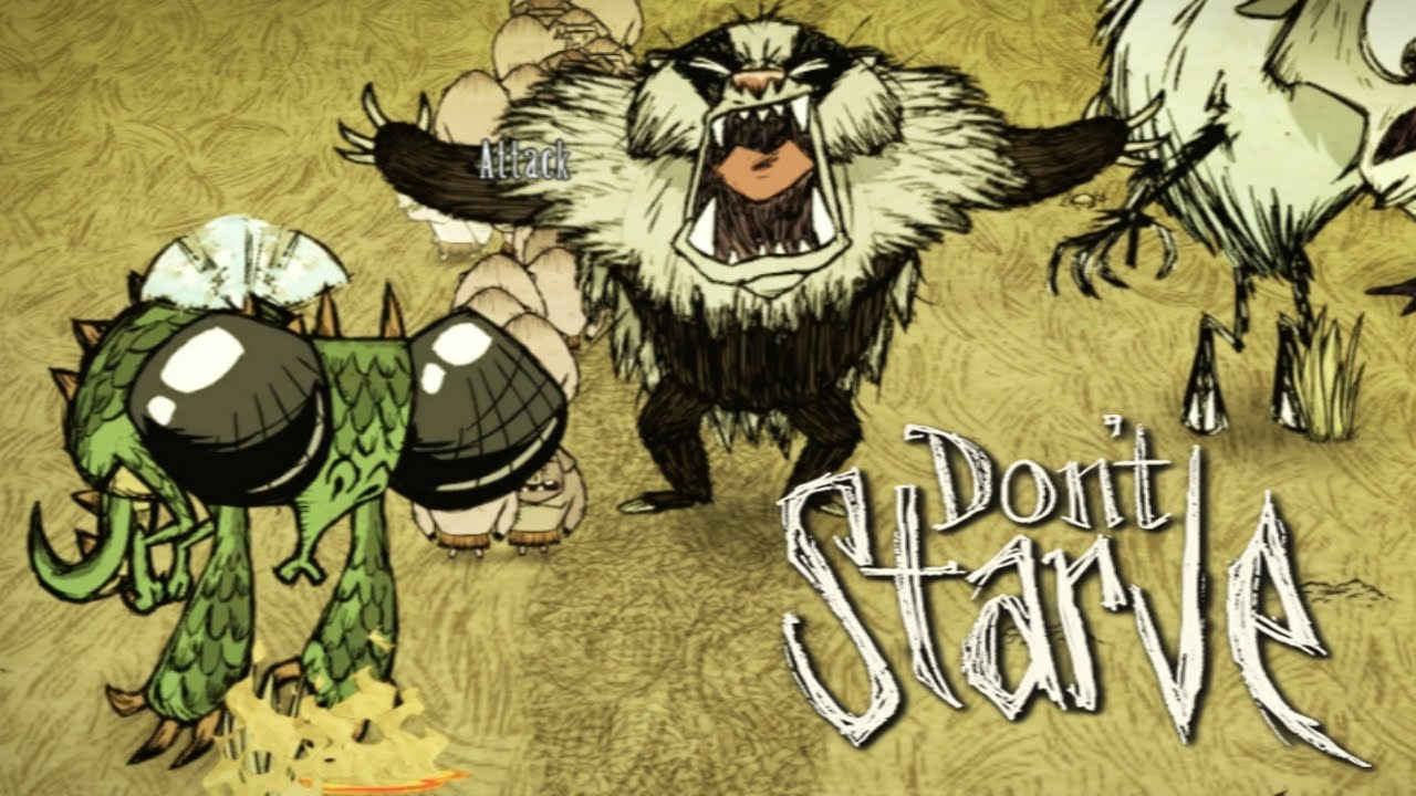 Dont Starve Playing as the Bearger A Reign of Giants