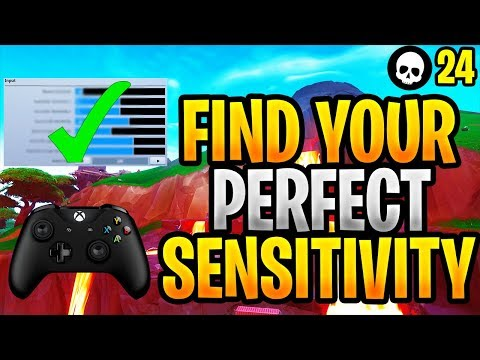 How To Find Your PERFECT Sensitivity In Fortnite! (Controller Fortnite Sensitivity - Xbox + PS4)