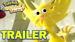 SOLARBEAM THE ZAPDOS? - Pokemon Lets Go Pikachu & Lets Go Eevee