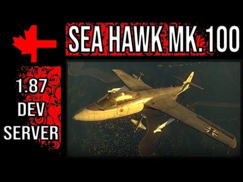 War Thunder Dev Server - Update 1.87 - Sea Hawk Mk.100
