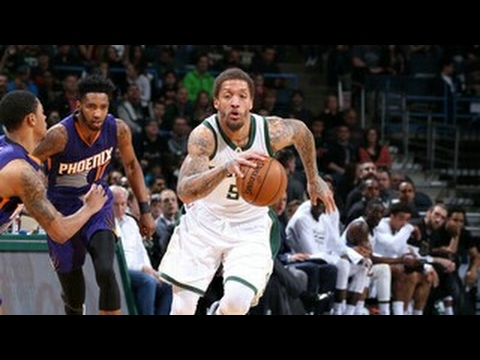 Michael Beasley vs Suns (26/20/2017) - 17 Pts, 8-10 FGM,  Off The Bench!