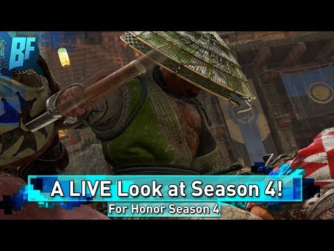 For Honor Season 4: Live with the New Characters!