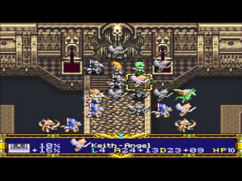 Let's Play Der Langrisser Part 42: French Fries and Cherie
