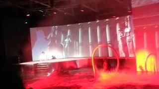 Шоу на воде Марии Киселевой - Медуза Горгона