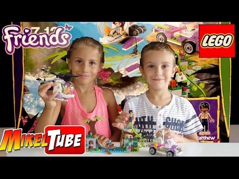 MikelTube #04# LEGO Friends 41036 Rescate en la Jungla (Español)