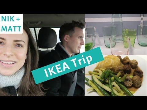 IKEA HAUL   NIK + MATT VLOG 2