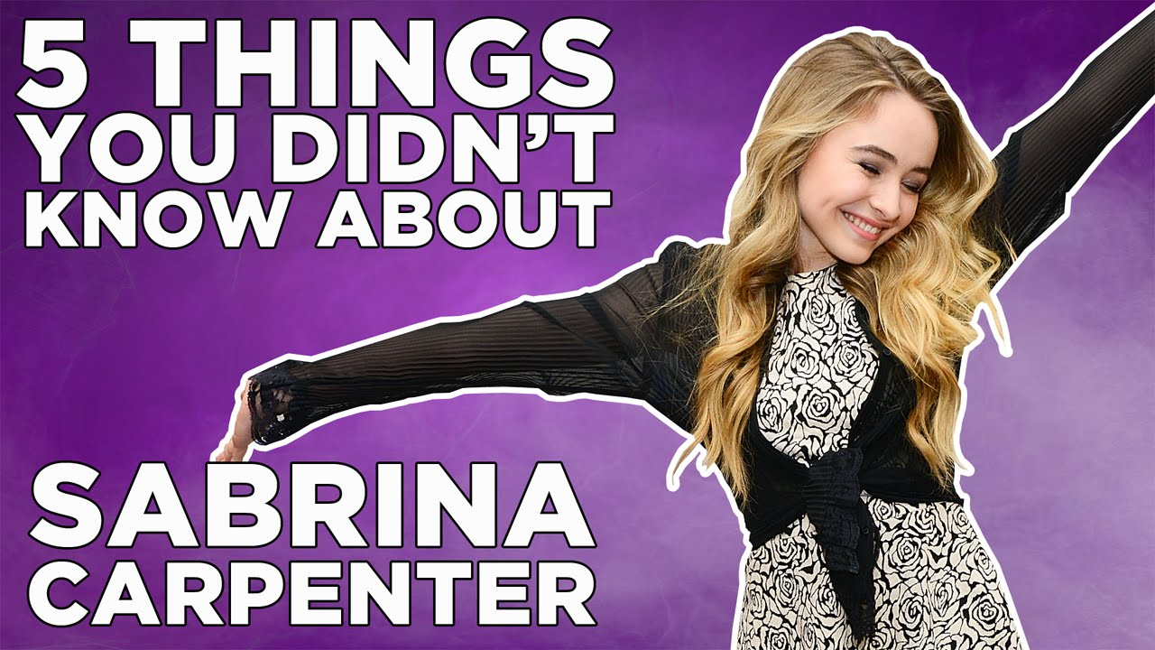 things you didn 39 t know about sabrina carpenter youtube. Black Bedroom Furniture Sets. Home Design Ideas