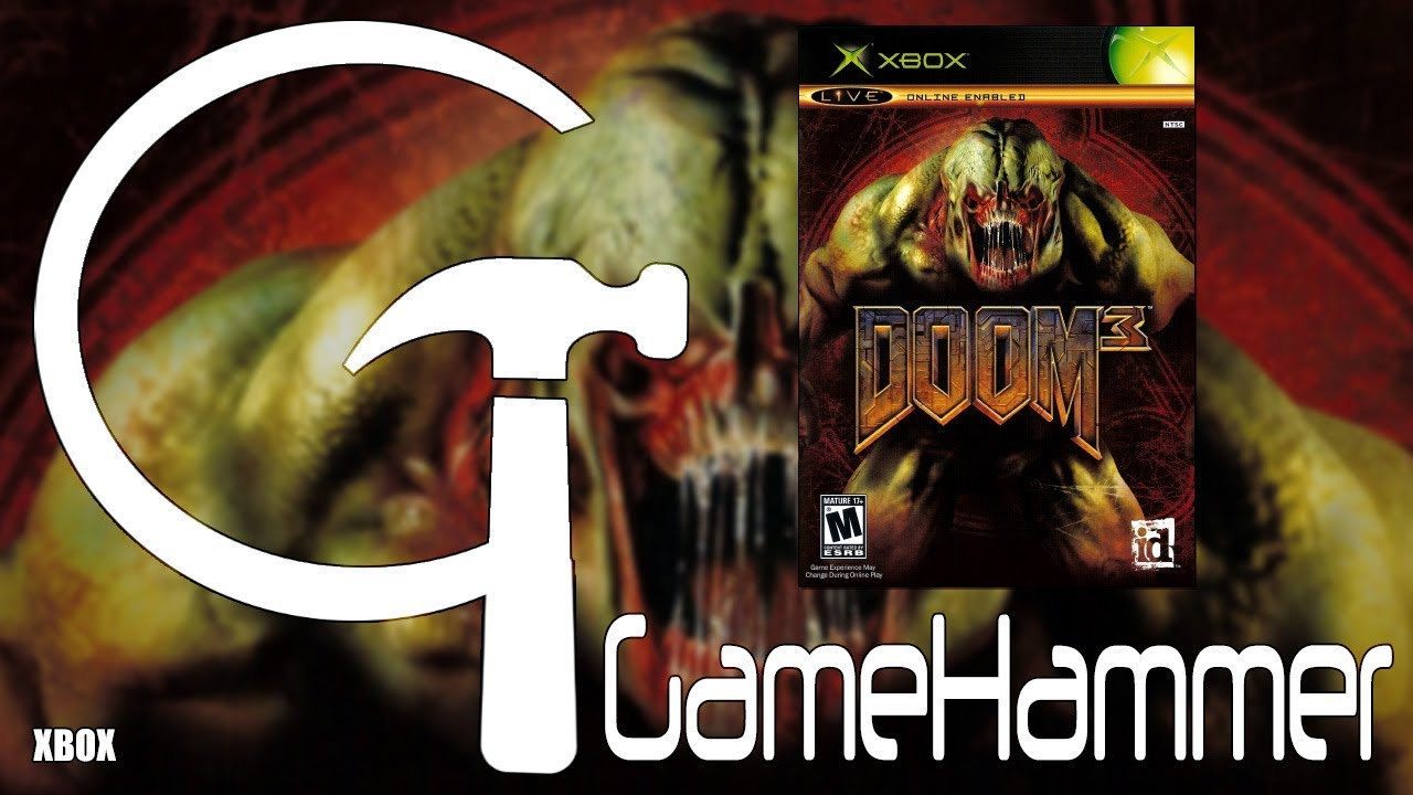 Doom 3 – Xbox – GameHammer 46 – Zoe Kirk-Robinson