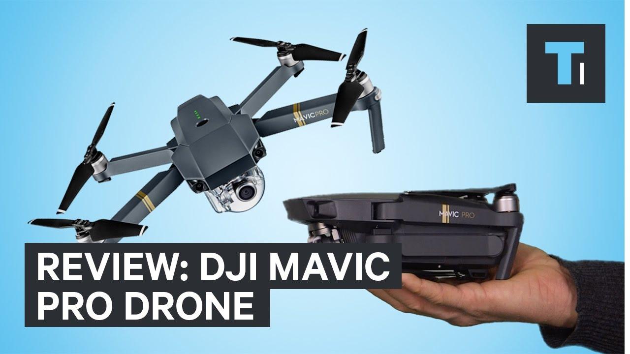 Review of the DJI Mavic Pro foldable drone
