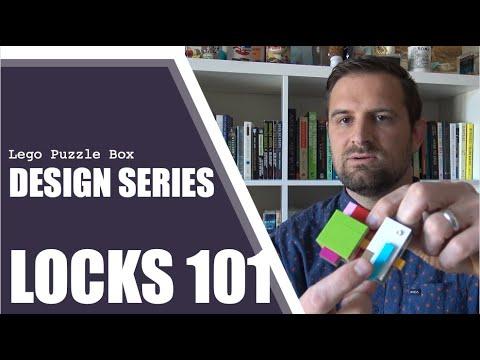Design Series: LOCKS 101 - Lego Puzzle Box Tricks (easy)