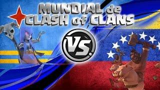 ¡VENEZUELA vs ARUBA EN DIRECTO! | MUNDIAL DE CLASH OF CLANS con ByMrLuis