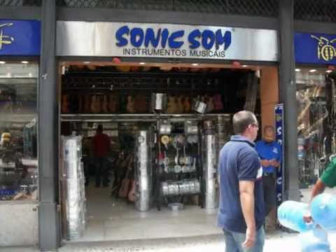 Instrumentos Musicais no Centro do Rio de Janeiro - Sonic Som