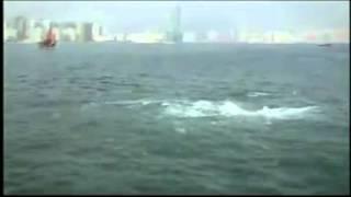 Rozstąpienie się morza jak za czasów Mojżesza ( ruchy tektoniczne płyt parting the sea )
