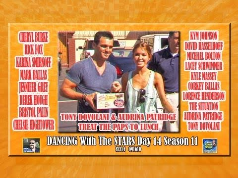 AUDRINA & TONI BRING LUNCH FOR PAPS DWTS Day 14 Season 11