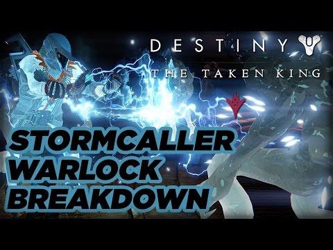 Warlock stormcaller subclass official breakdown destiny the taken king youtube - Warlock stormcaller ...